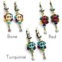 Sugar Skull Earrings Uk - Jewelry FlatHeadlake3on3