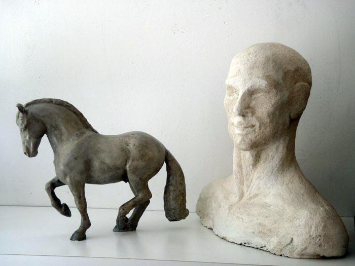 Beton  skulpturkunstch  Skulpturen  Plastiken aus Beton