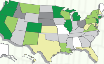usa map for skunk