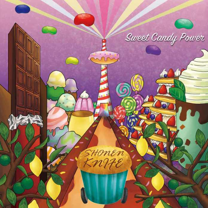 Sweet Candy Power by Shonen Knife is Available Now!