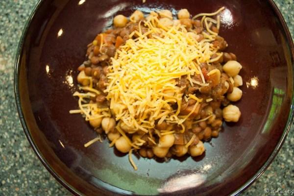 Lentil-Chickpea Chili