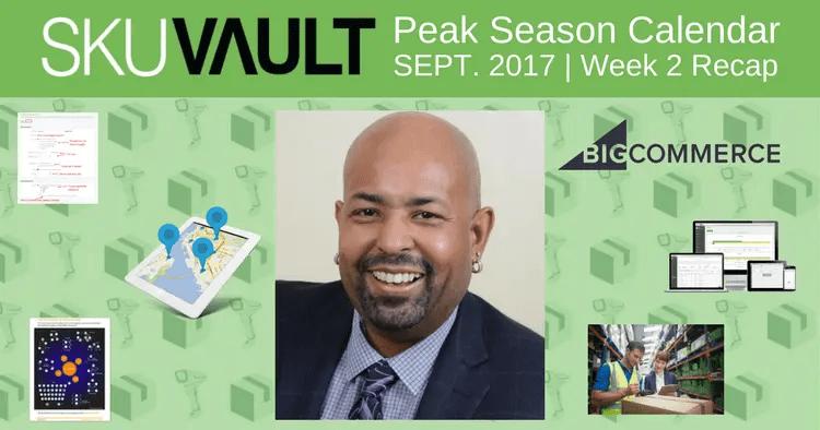 Countdown to Peak Season Calendar: Week 2 Recap