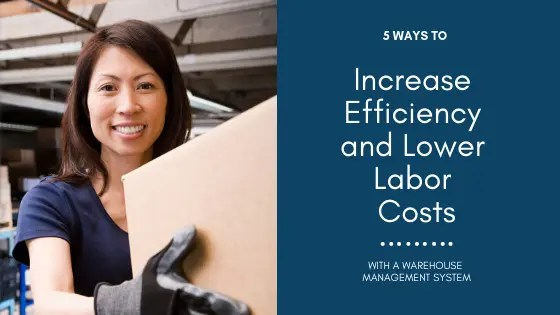 5 Ways to Increase Efficiency with a Warehouse Management System