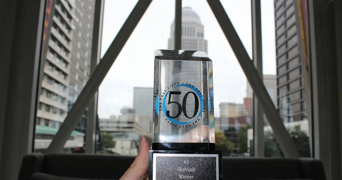SkuVault Named the Second Fastest Growing Company in Louisville