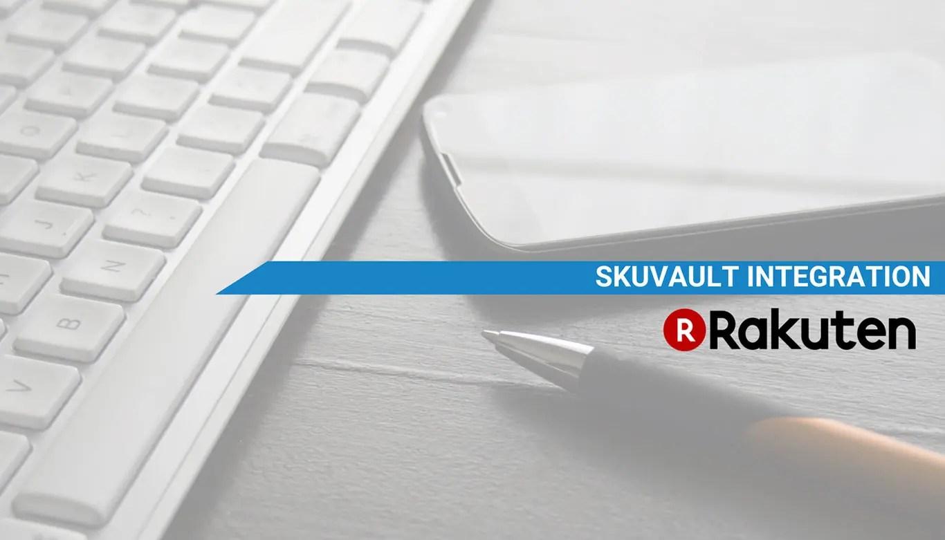 SkuVault WMS Rakuten integration
