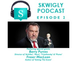 Skwigly Animation Podcast #2 Barry Purves, Fraser MacLean & Colin Harding