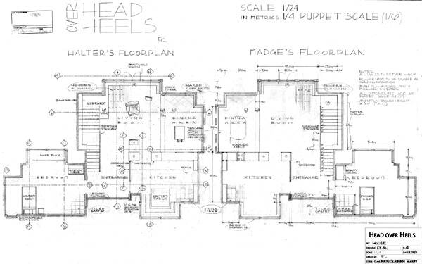 Floorplan by Eleanore Cremonese