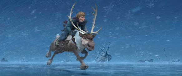KRISTOFF and SVEN ©2013 Disney. All Rights Reserved.