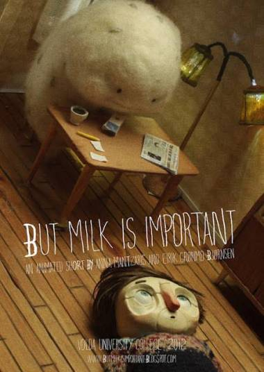 """but milk is important"" Poster"