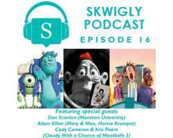 Skwigly Animation Podcast #16 – Dan Scanlon, Adam Elliot, Cody Cameron & Kris Pearn