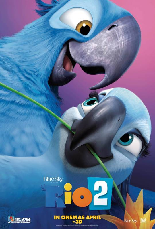 Rio 2 Blu and Jewel Character 1 Sheet