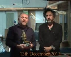 Tim Burton Picks Up BAF Fellowship Award