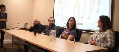 (L-R: Dani Abram, Gareth Cavanagh, Ben Mitchell, Kerry Dyer & Jane Davies)