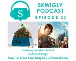 Skwigly Animation Podcast #23 – Disney & DreamWorks