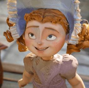Winnie voiced by  Elle Fanning
