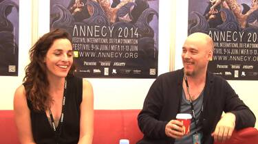 Janice Nadeau & Nicola Lemay at Annecy 2014
