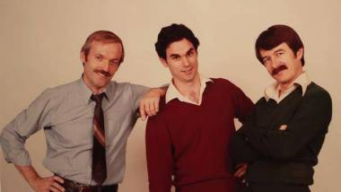 (L-R) Don Bluth, John Polmeroy, Gary Goldman