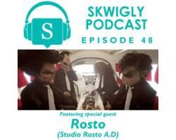 Skwigly Animation Podcast #48 – Rosto