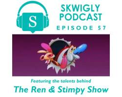 Skwigly Animation Podcast #57 – 'Ren & Stimpy' 25th Anniversary