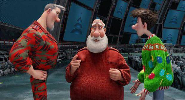 Aardman collaborated closely with Sony Pictures Animation to make Arthur Christmas(2011)