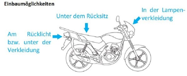 gps tracker motorrad boot