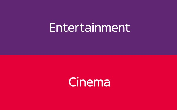 Sky Cinema + Entertainment Ticket