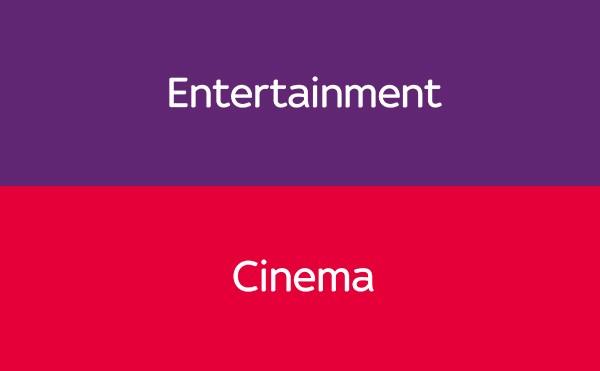 Sky Cinema + Entertainment Ticket