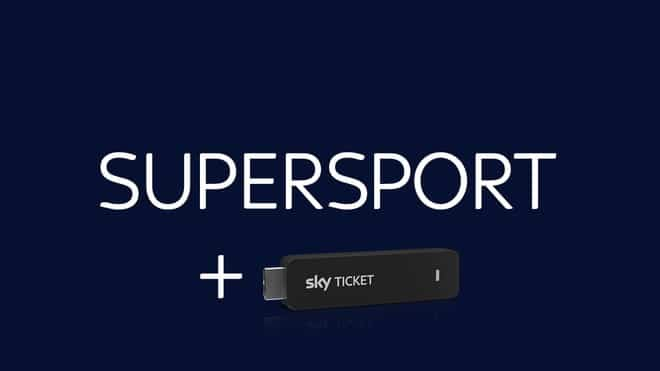 Sky Supersport Ticket + TV-Stick