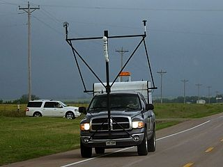 Instrumented Scout Vehicle For Former Tiv And Now The Vortex Ii Group While On A Major Oklahoma Chase In Early May 2010