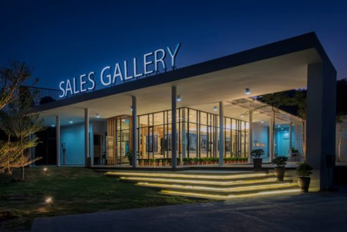 Kingfisher Inanam Show Unit  Sales Gallery  sky architectssky architects