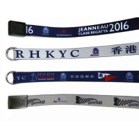 Custom Belts for Crew and Regattas