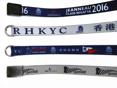 Custom Belts for Crew and Regattas - Range