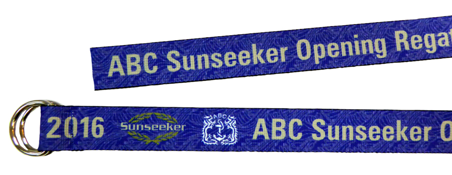 Custom Crew Belts - Aberdeen Boat Club - Sublimation Regatta Belt by Sky International