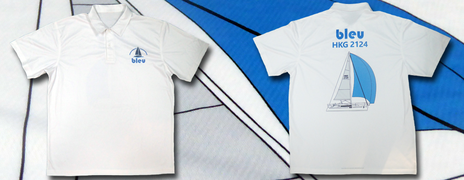 Custom Crew Shirts - Bleu - Sublimation Polo by Sky International
