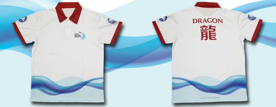 Custom Crew Shirts - Dragon - Sublimation Polo by Sky International