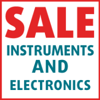 SALE - Instruments and Electronics