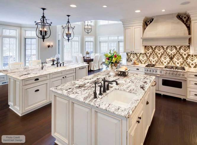 Alaska White Granite Countertops In