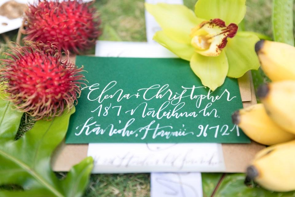 Hawaii wedding invites getting married in Hawaii