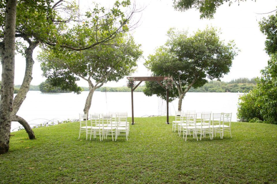Moli'i Gardens Kualoa Wedding Venue