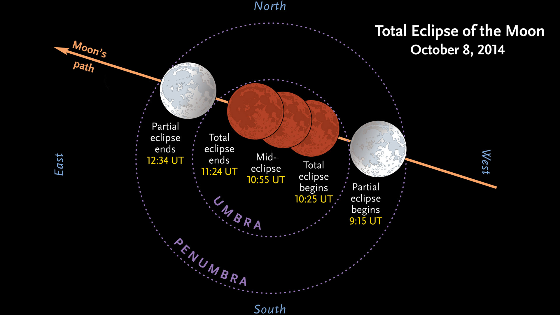 phases of the moon diagram to label hpm dimmer wiring total lunar eclipse before dawn october 8th sky and telescope