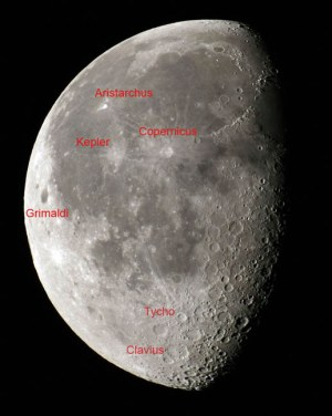How to See Lunar Craters with the Naked Eye  Sky & Telescope