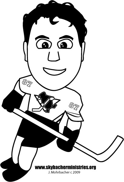 Free sidney crosby coloring page let 39 s go pens for Sidney crosby coloring pages