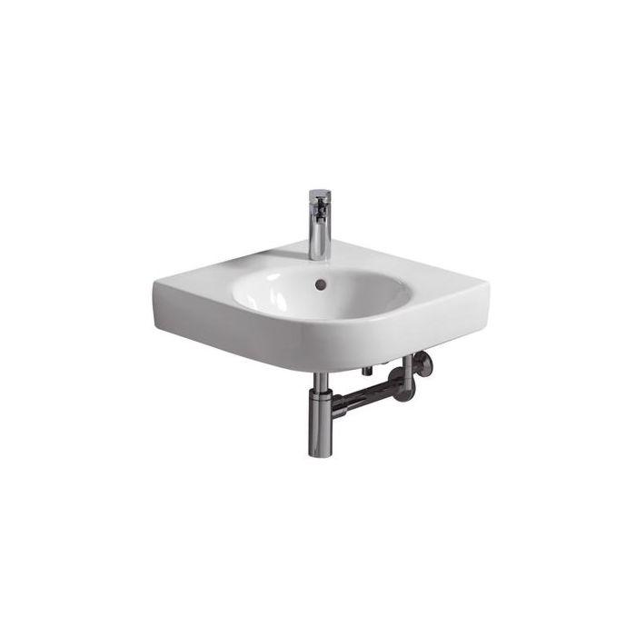geberit lavabo renova comprimo 226150000 blanc longueur de jambe 50cm modele d angle