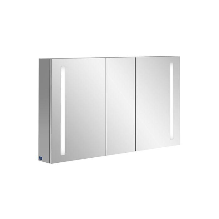 villeroy boch my view 14 a4241300 armoire de toilette 130 x 75 x 17 3 cm led