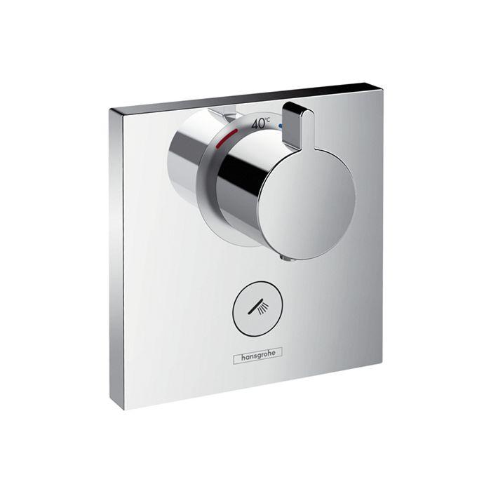 hansgrohe showerselect 15761000 highflow mitigeur thermostatique douche encastre chrome