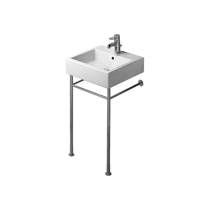 duravit vero metal console 0030651000 height adjustable 5 cm chrome