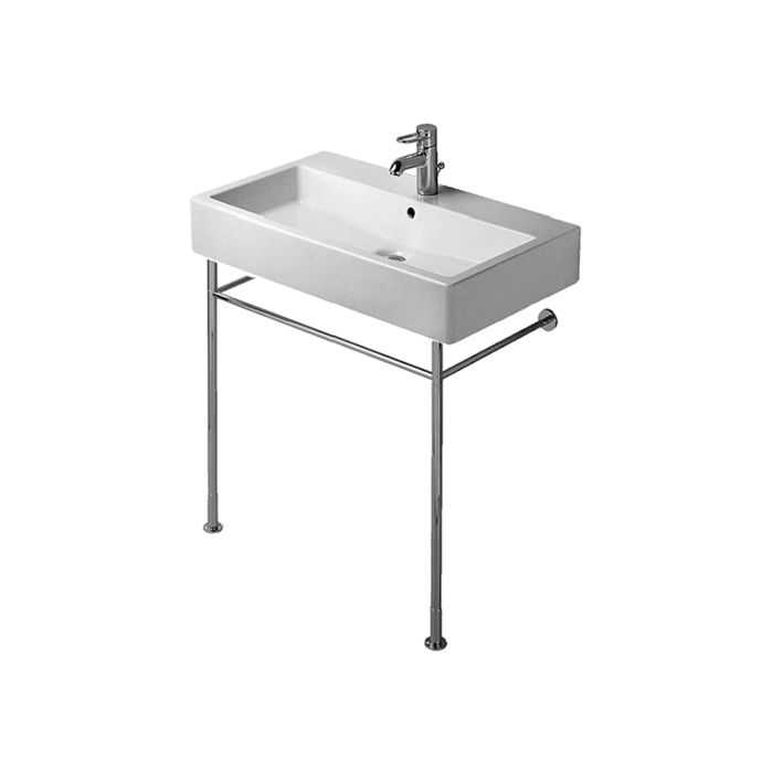 duravit vero metal console 0030751000 for wash basin width 700mm chrome