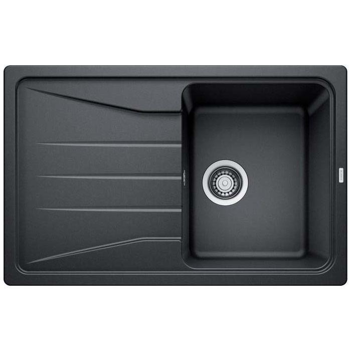 blanco sona 45 s sink 519662 78 x 50 cm puradur anthracite reversible without drain remote control