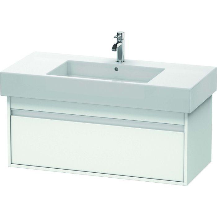 duravit ketho cabinet ketho kt669101818 100 x 41 x 45 5 cm white matt wall mounted