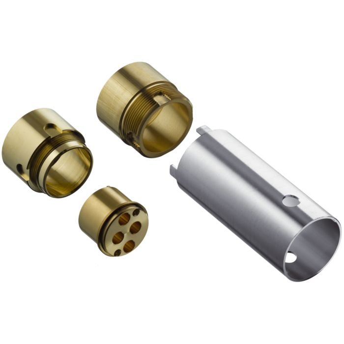 hansgrohe extension match0 31971000 pour montage encastre pour mitigeur lavabo 2 trous
